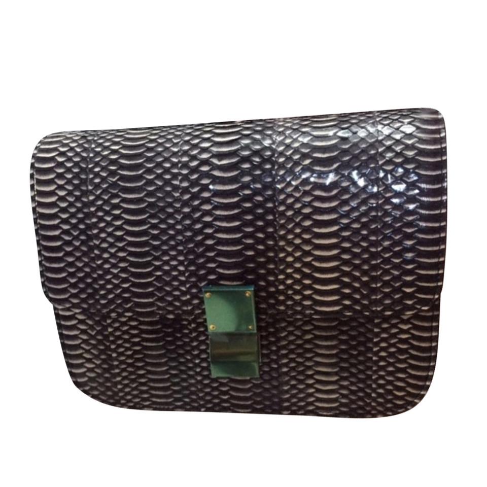"Céline ""Box Bag Medium"" made of snake leather"