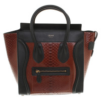 "Céline ""Micro Luggage Bag"" made of python leather"