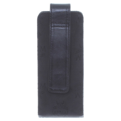 MCM Glasses case in black