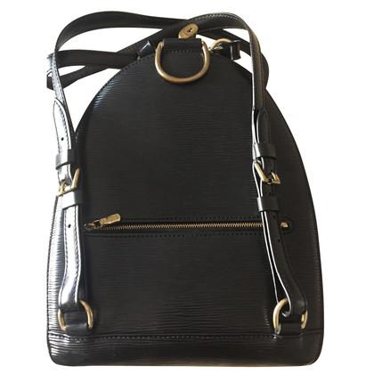 Louis Vuitton Mabillon Epi Noir Backpack