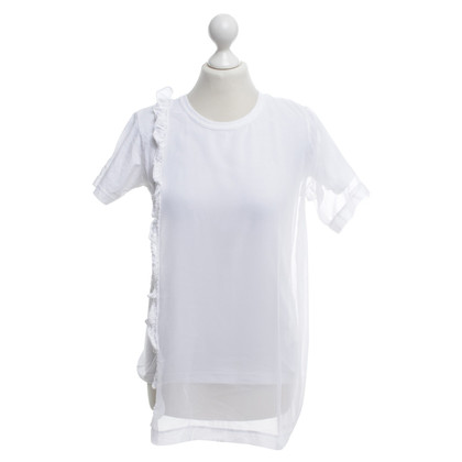 Comme des Garçons T-shirt en blanc