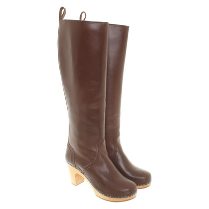 Swedish Hasbeens Boots in brown