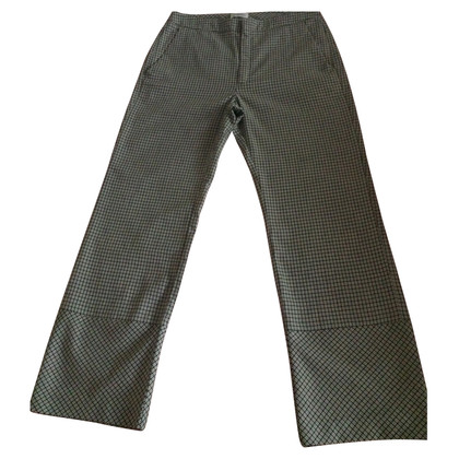 Stefanel Checked trousers