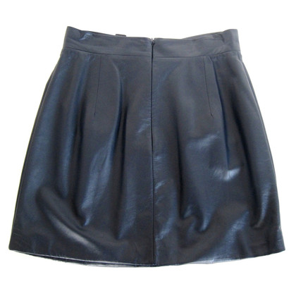 Vionnet skirt made of leather