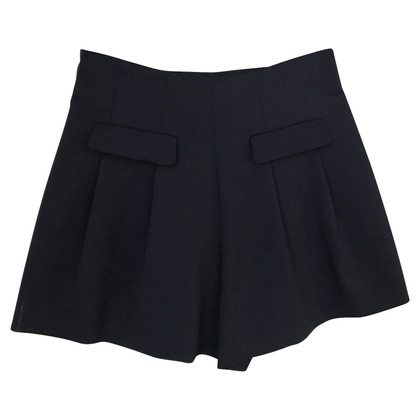 Red Valentino Wol shorts in blauw