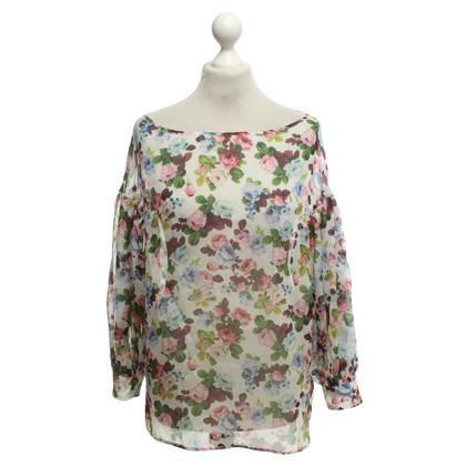 Sport Max Zijden blouse in multicolor