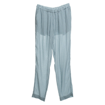Closed Summer pants with pattern
