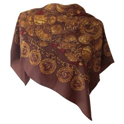 Chanel Vintage silk scarf.