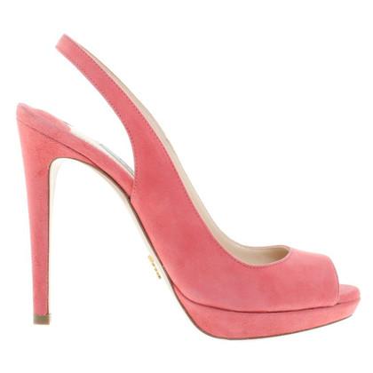 Prada Sandals Suede