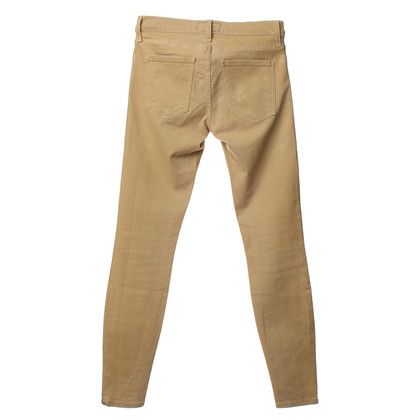 Current Elliott Jeans with gold-coloured coating