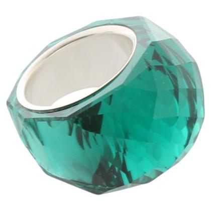 Swarovski Green ring