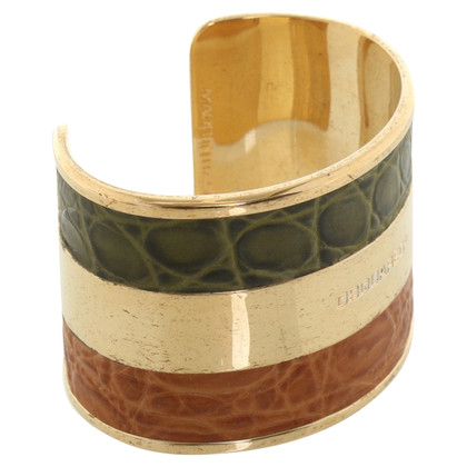Dsquared2 Bangle con inserti in pelle