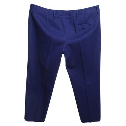 Miu Miu Classic trousers in blue