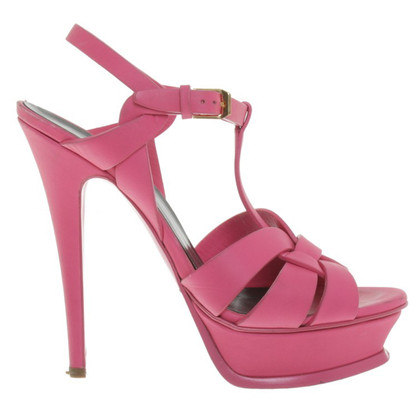 Saint Laurent Sandals in pink