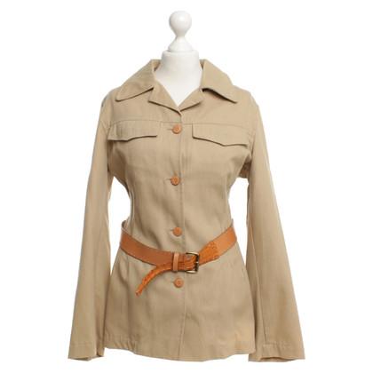Ermanno Scervino Jacket in safari look