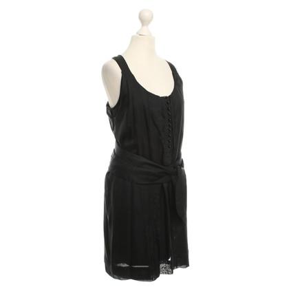 Armani Black silk dress