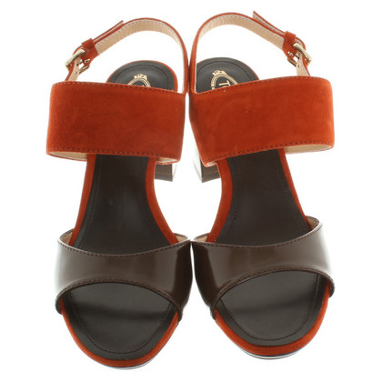 Tod's Sandals in Bicolor