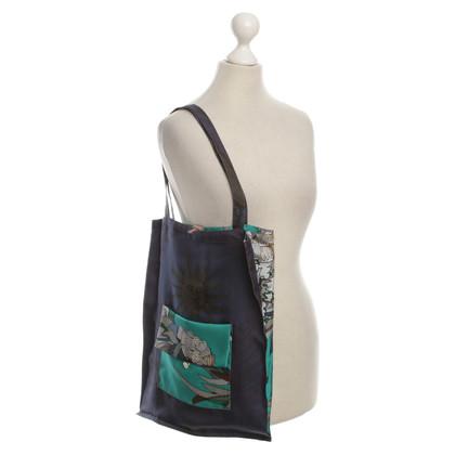 Hermès Zijde tas met patroon
