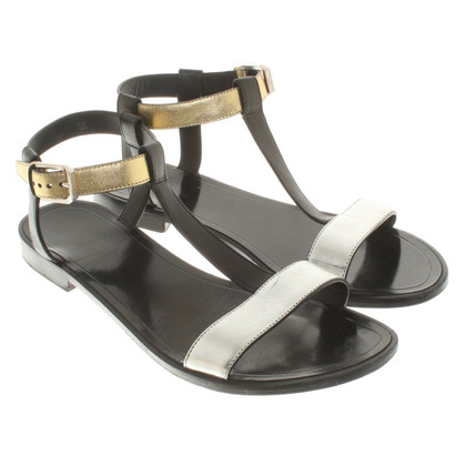 Saint Laurent Sandalen Tricolor