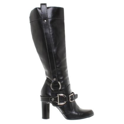 Dolce & Gabbana Stiefel in Schwarz