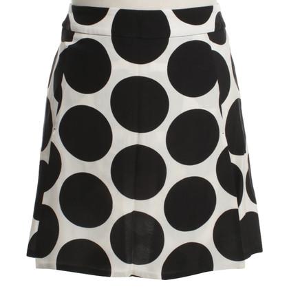 Dolce & Gabbana Seidenrock mit Muster