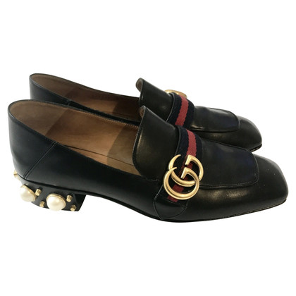 Gucci Loafer met parelhak