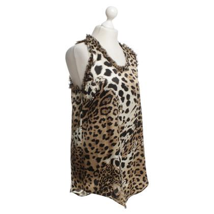 Roberto Cavalli Top made of silk