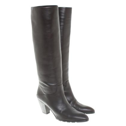 Walter Steiger Boots in dark brown