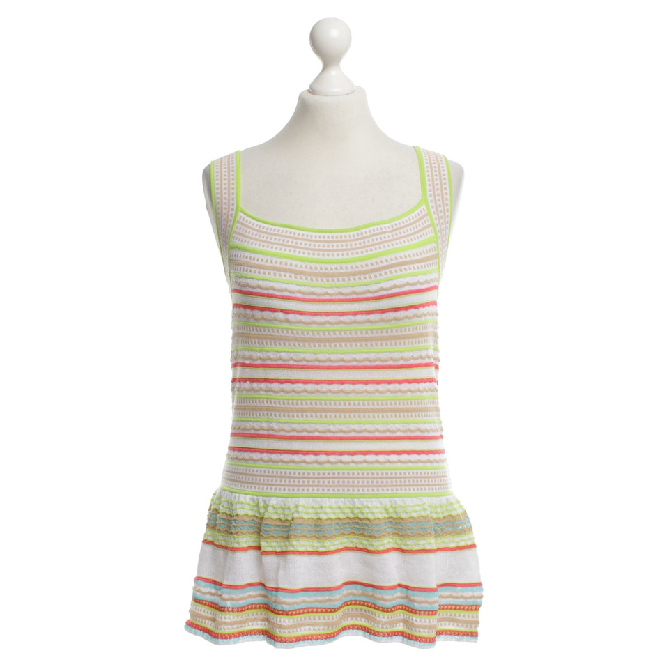 Missoni Top mit Muster-Mix