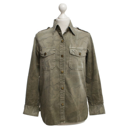 Current Elliott Denim shirt met camouflagepatroon