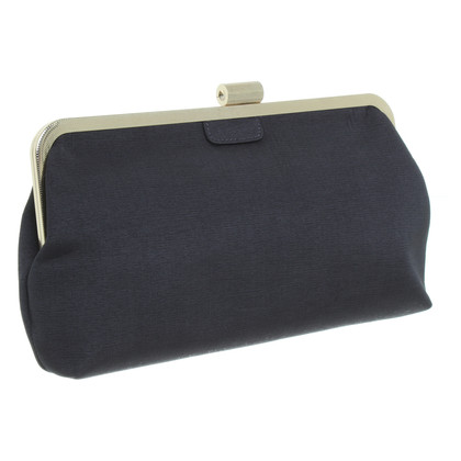 BCBG Max Azria clutch in tortora scuro