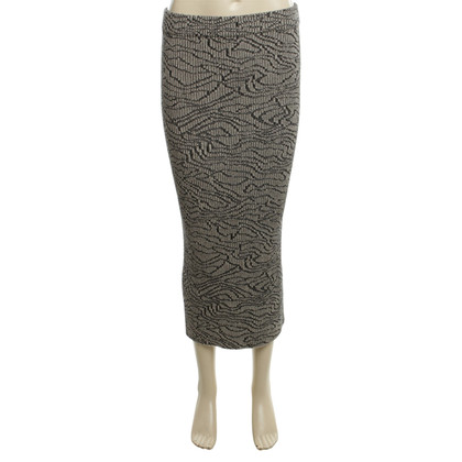 By Malene Birger Knit skirt with pattern