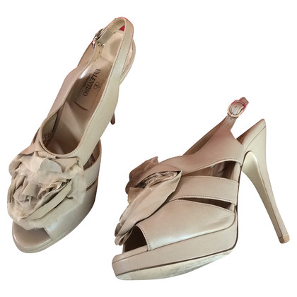 Valentino High heel leather shoes