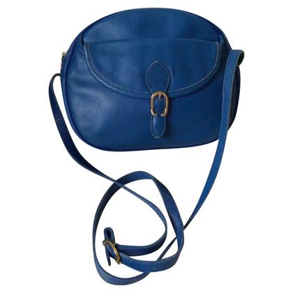 Longchamp Schoudertas in blauw
