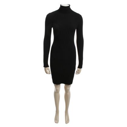 Wolford Black dress in rib knit