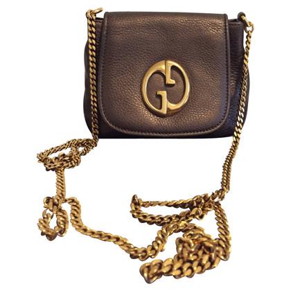 Gucci Leer clutch