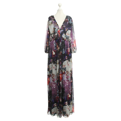 Alice + Olivia Maxi dress with pattern