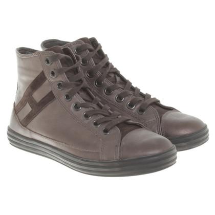Hogan Sneakers in Bronzefarben