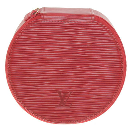 Louis Vuitton Beautycase in red