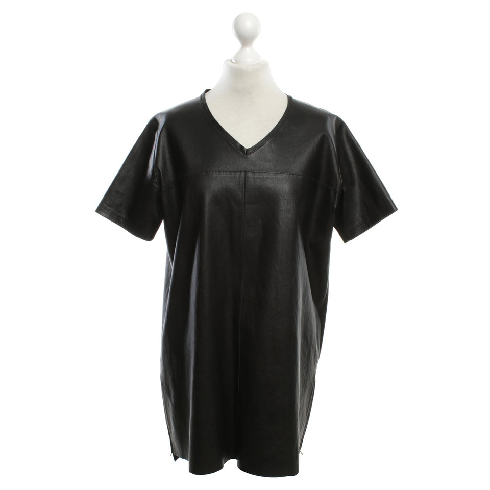 Jitrois Leather tunics in black