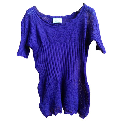 Prada Strick-Shirt in Violett