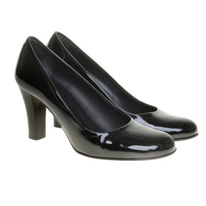 Bally Lackpumps in Schwarz