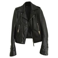 Balenciaga Biker Leather Jacket