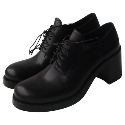 Miu Miu Leather lace-up shoes