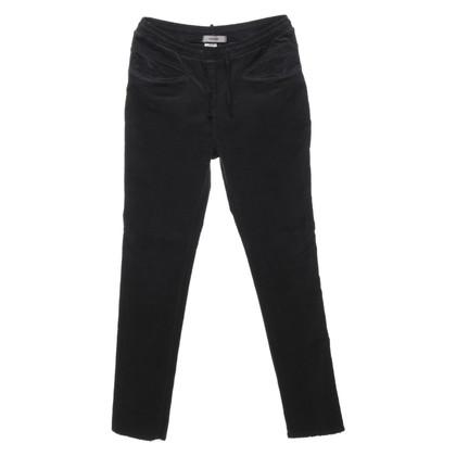 Humanoid Pantaloni di velluto a coste in antracite