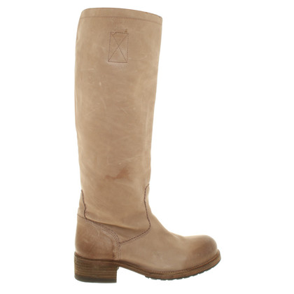 Fred de la Bretoniere Leather boots