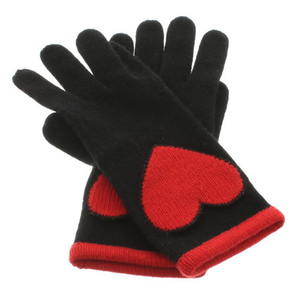 Moschino Gloves in black