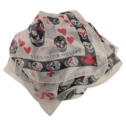 Alexander McQueen sjaal patroon