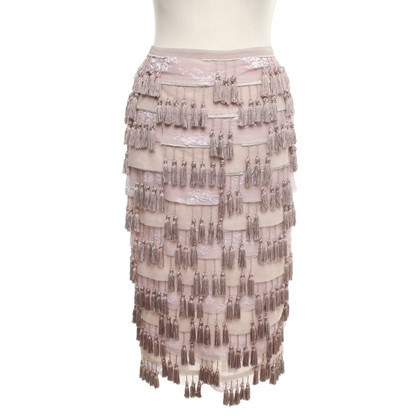 Armani skirt with tassel decor