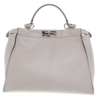 "Fendi ""Peekaboo Large"" in Creme"